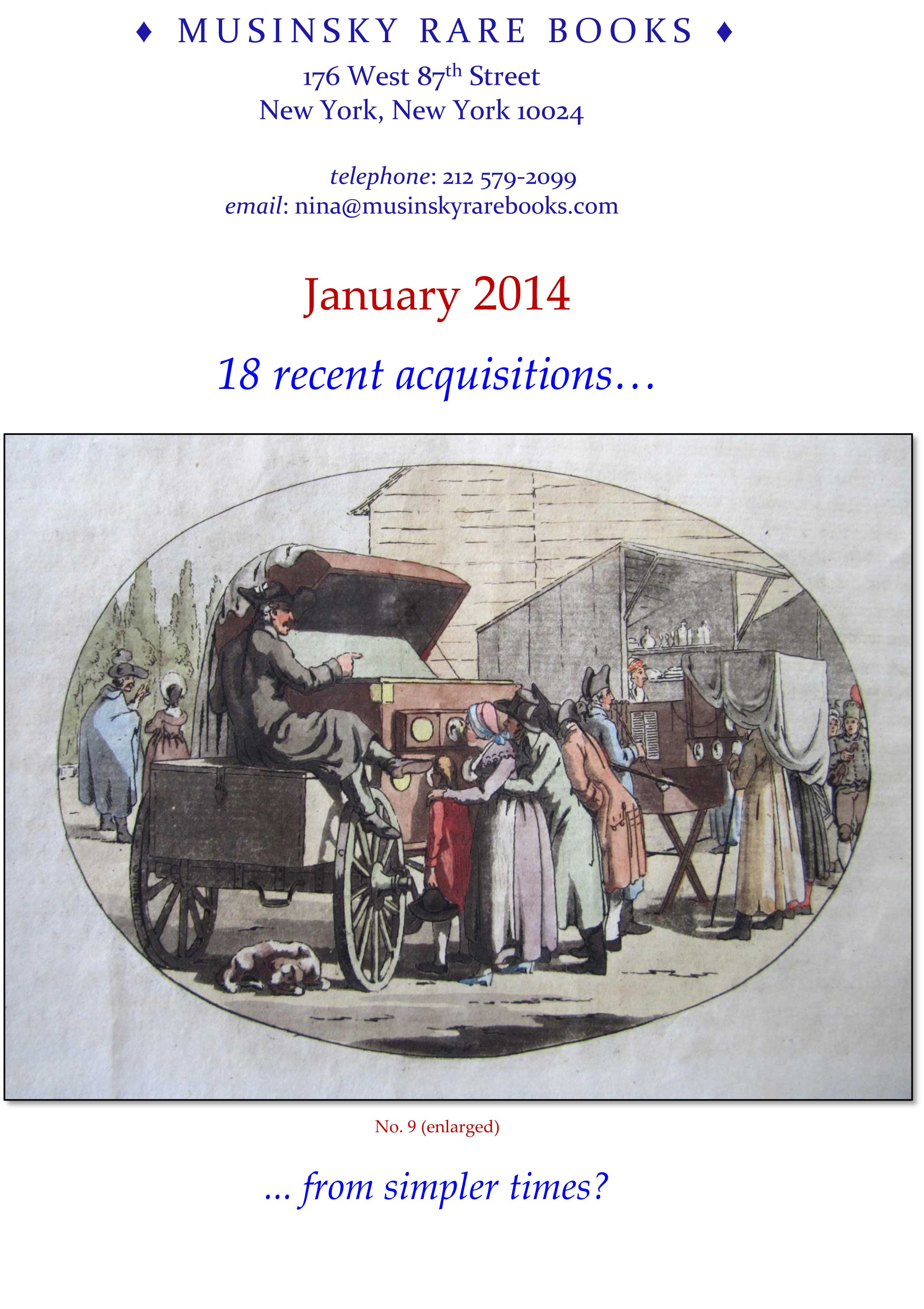 January 2014 - 18 recent acquisitions…