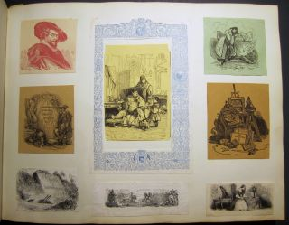 Album of illustrations from printed books and periodicals.