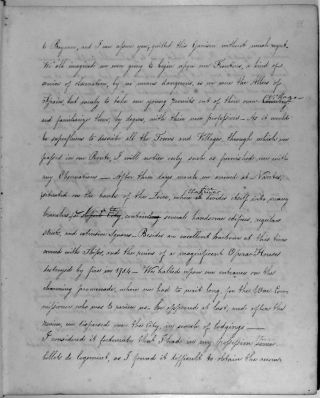 Manuscript memoir of a captured French officer's experiences in Spain, 1808-1809. Title: Recollections / By / H de Montvaillant.