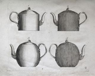 Designs of Sundry Articles of Queen's or Cream-colour'd Earthen-Ware, manufactured by Hartley,...